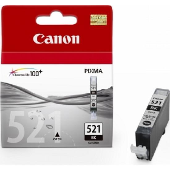 Canon CLI-521BK Оригинална мастилена касета (черна)