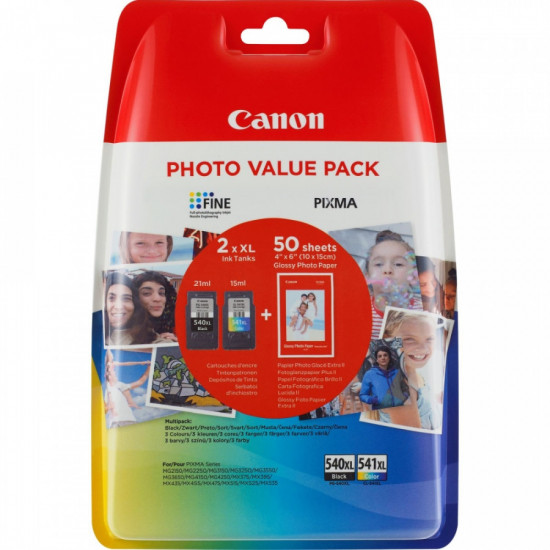 Canon Multi Pack PG-540XL/CL-541XL  оригинални мастилени глави
