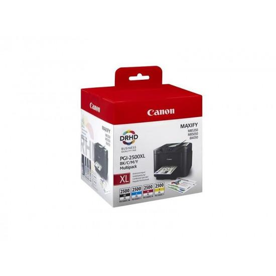 Canon Multi Pack PGI-2500XL BK/C/M/Y  оригинални мастилени касети