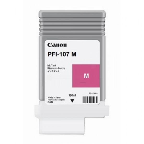 Canon PFI-107M оригинална мастилена касета (магента)