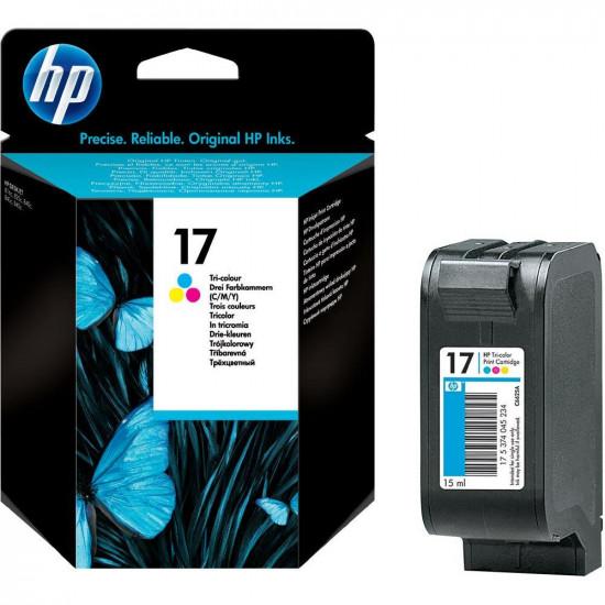 HP C6625AE оригинална мастилена касета (цветна)