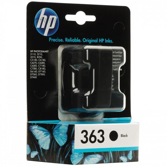HP C8721EE оригинална мастилена касета (черен)