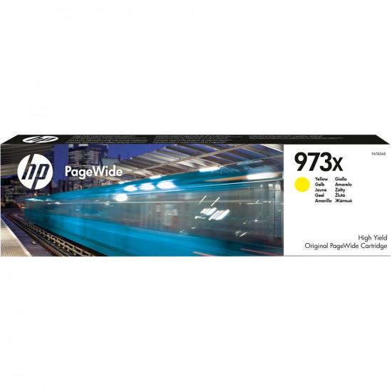 HP F6T83AE оригинална мастилена касета (жълт)