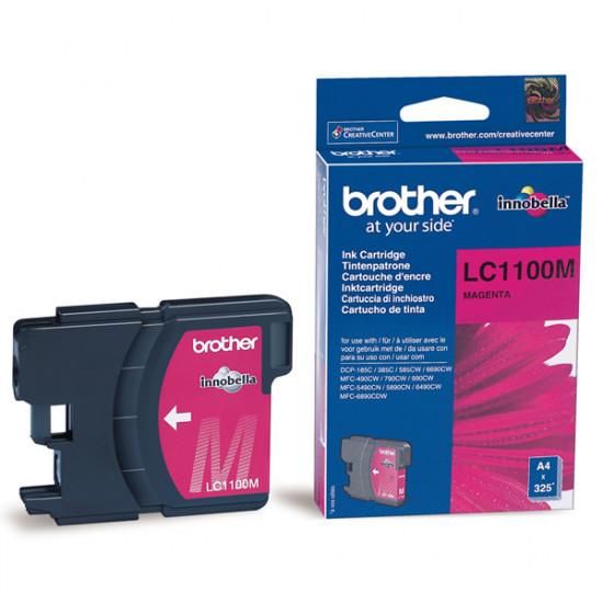 Brother LC1100M Оригинална мастилена касета (магента)