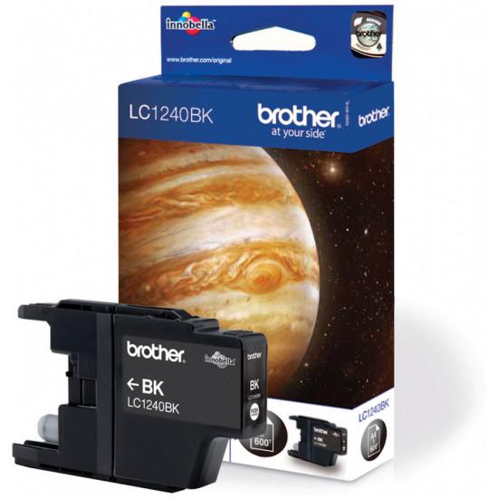 Brother LC1240BK Оригинална мастилена касета (черна)