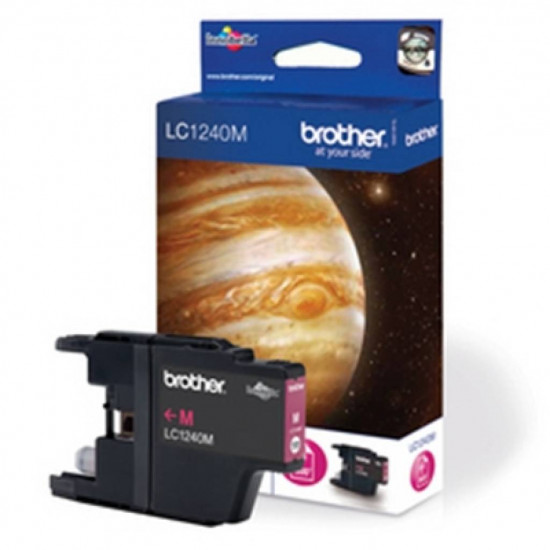 Brother LC1240MA Оригинална мастилена касета (магента)