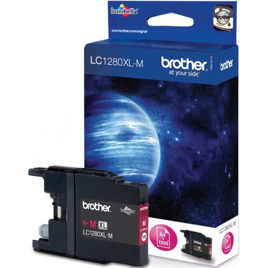 Brother LC1280XL-MA Оригинална мастилена касета (магента)