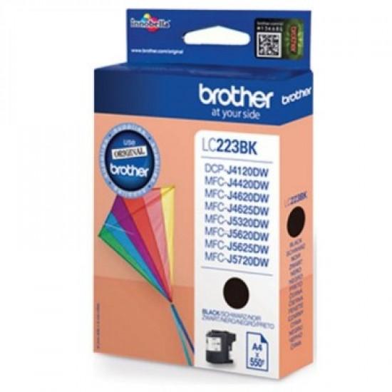Brother LC223BK Оригинална мастилена касета (черна)