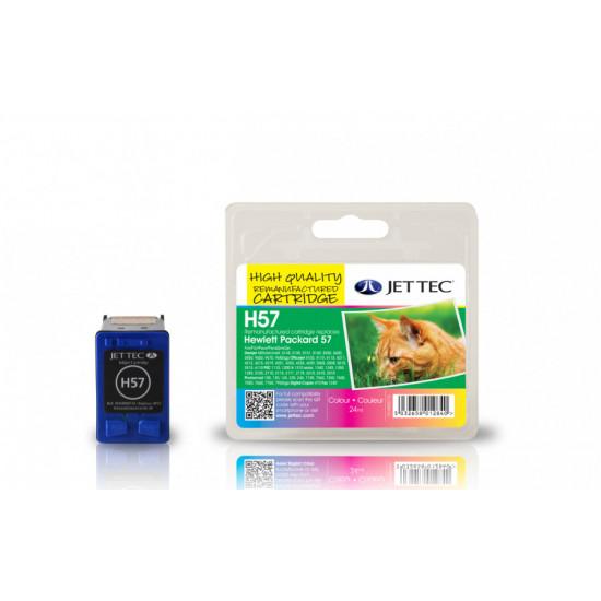 C6657A, HP57 Съвместима мастилена касета (цветна)
