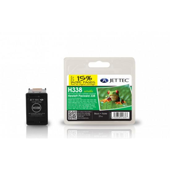 C8765EE, HP338 Съвместима мастилена касета (черна)