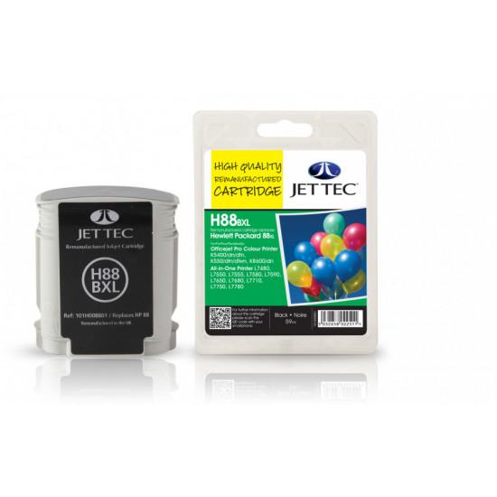 C9396A (HP88) Съвместима мастилена касета (черна) голям капацитет