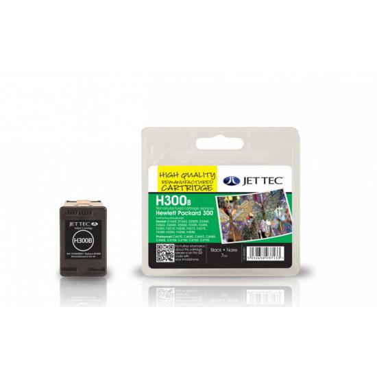 CC640EE, HP300 Съвместима мастилена касета (черна)