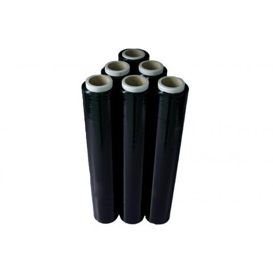 Черен стреч  23 микрона / 1,8 кг