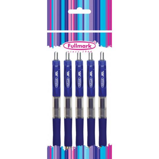 Химикалка Fullmark  гел, 0.7 мм, синя
