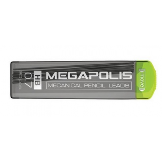 Комплект 20 графити HB 0.7 Megapolis