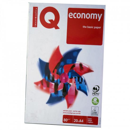 Копирна хартия Q economy A4 клас B