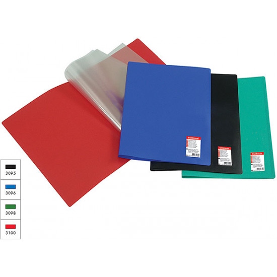 Папка с 30 вътрешни джобове Soft Flexible черен