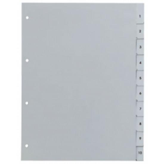Разделител пластмасов 1-10 цифри Gera Folien