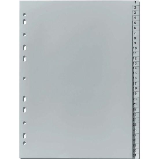 Разделител пластмасов 1-31 цифри Esselte