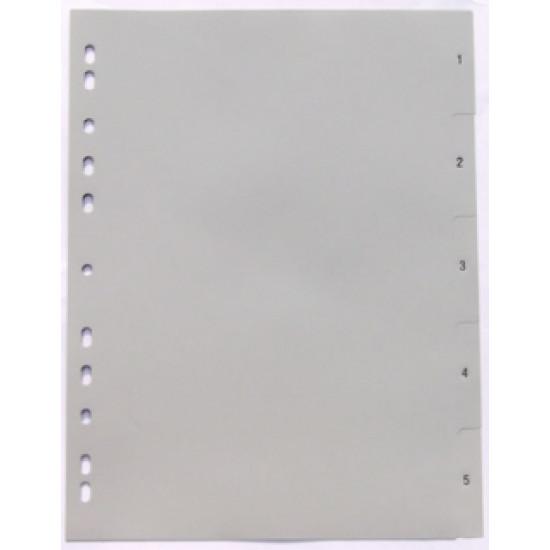 Разделител пластмасов 1-5 цифри Gera Folien