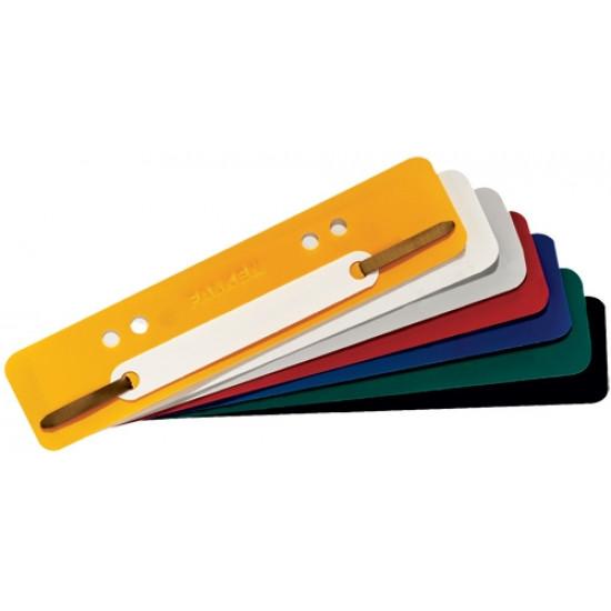 Пластмасов удължител за папки жълт