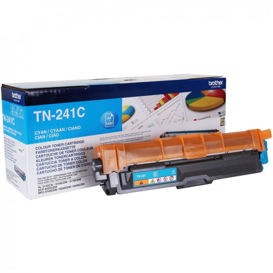Brother TN-241C Toner Cartridge