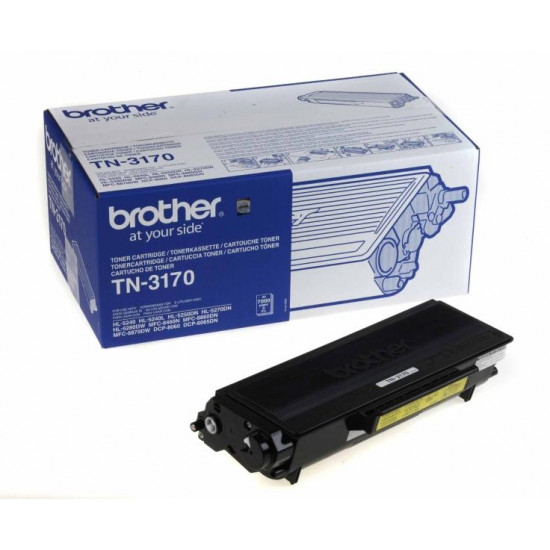 Brother TN-3170 Toner Cartridge High Yield