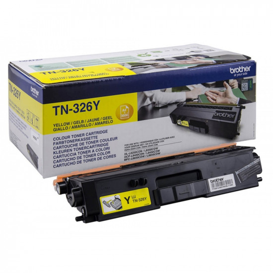 Brother TN-326Y Toner Cartridge High Yield
