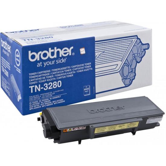 Brother TN-3280 Toner Cartridge High Yield