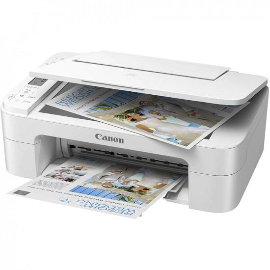 Мастилен многофукционално устройство Canon PIXMA TS3351 All-In-One, White