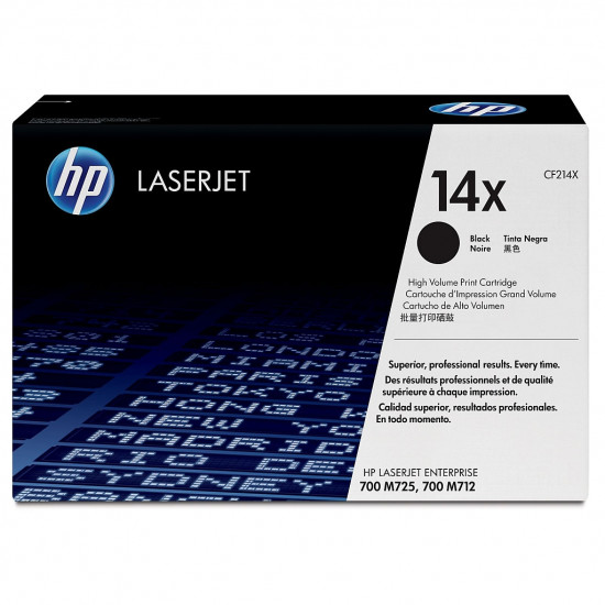 HP 14X Black LaserJet Toner Cartridge
