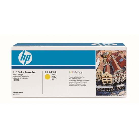 HP 307A Yellow LaserJet Toner Cartridge