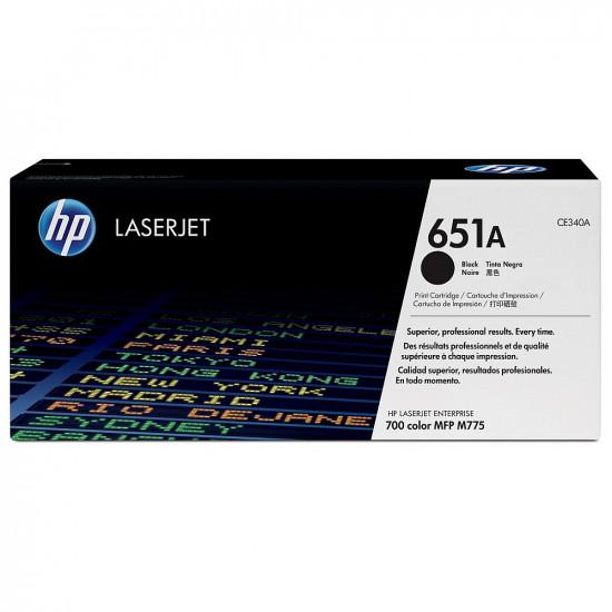 HP 651A Black LaserJet Toner Cartridge